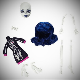 Monster High Create-A-Monster Skeleton Add-On Parts