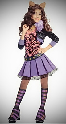 Monster High Deluxe Clawdeen Wolf Costume