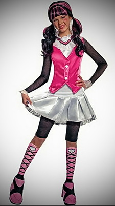 Monster High Deluxe Draculara Costume