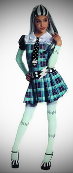 Monster High Deluxe Frankie Stein Costume
