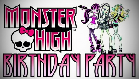 Tips for throwing a cool Monster High birthday party for your child