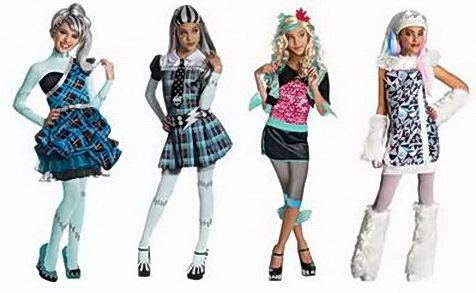 What are the Varieties of Monster High Products?
