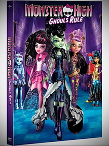 Monster High: Ghouls Rule (2012) (dvd movie)