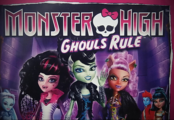 Monster High Ghouls Rule Movie Characters